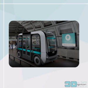 3D printed electric bus can talk to you