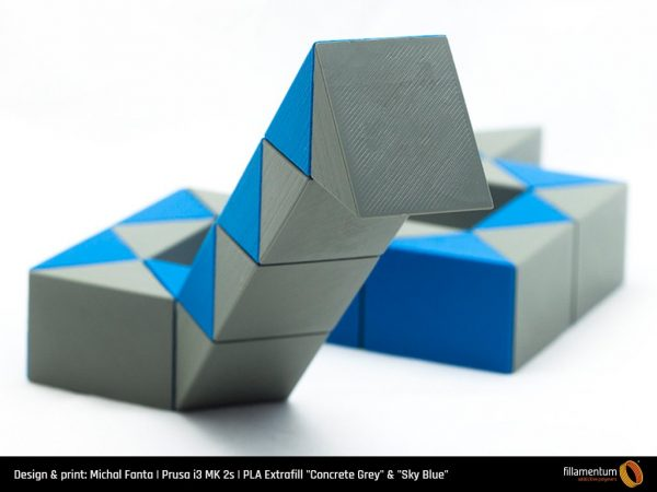 PLA Extrafill Concrete Grey