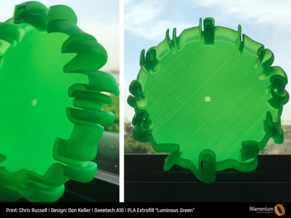 "PLA Extrafill ""Luminous Green"""