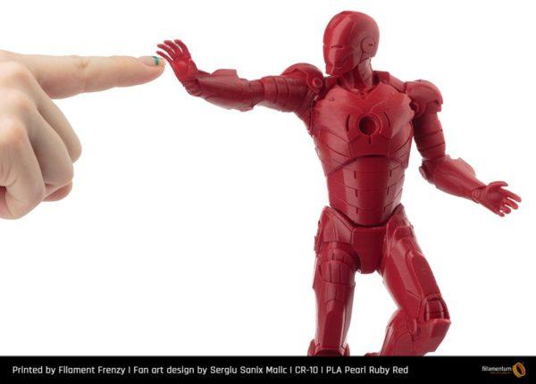 PLA_Pearl_Ruby_Red_FilamenFrenzy_Ironman_