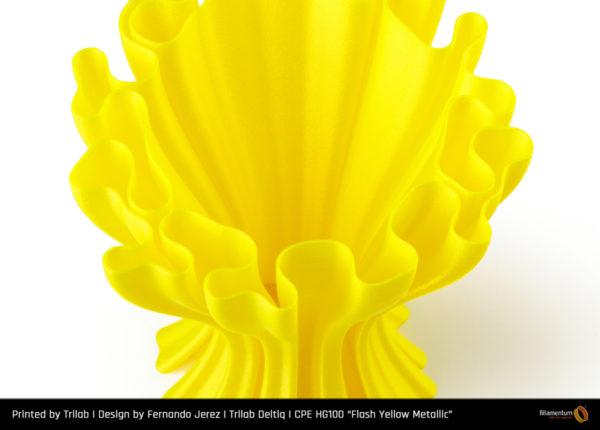 CPE_HG100_Flash_Yellow_Metallic_Trilab_Vase