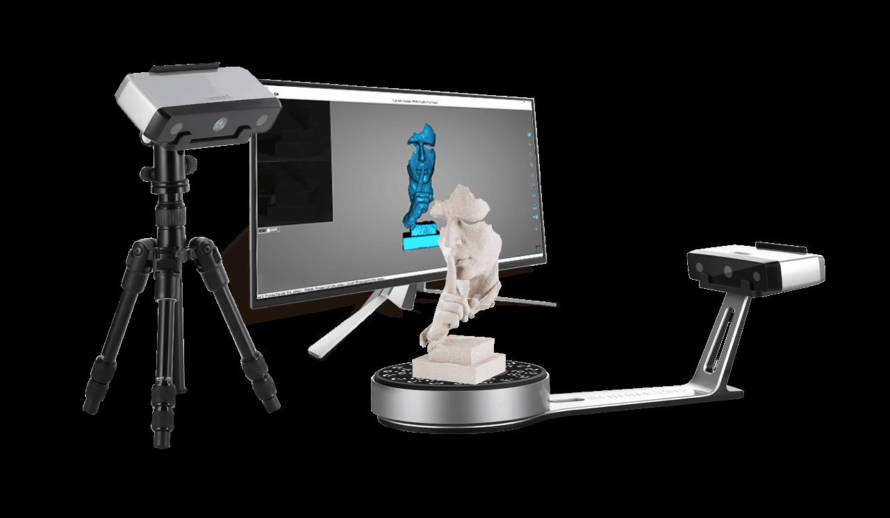 EinScan-SP scanner
