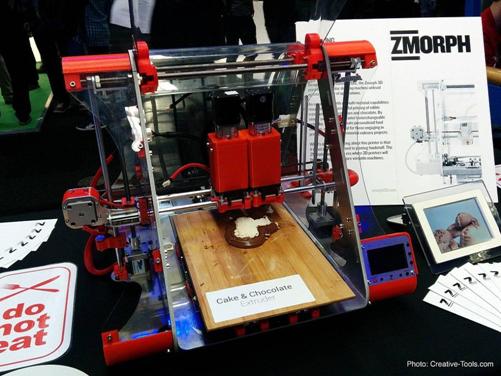 3D принтът и формите за сладки