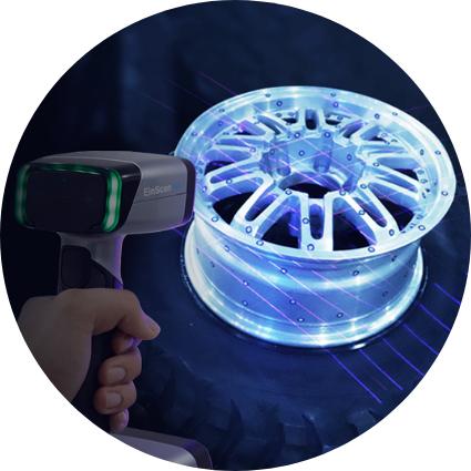 Hybrid Blue Laser & LED Light